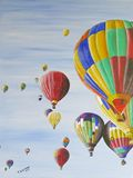 Air Balloons in vivid colors