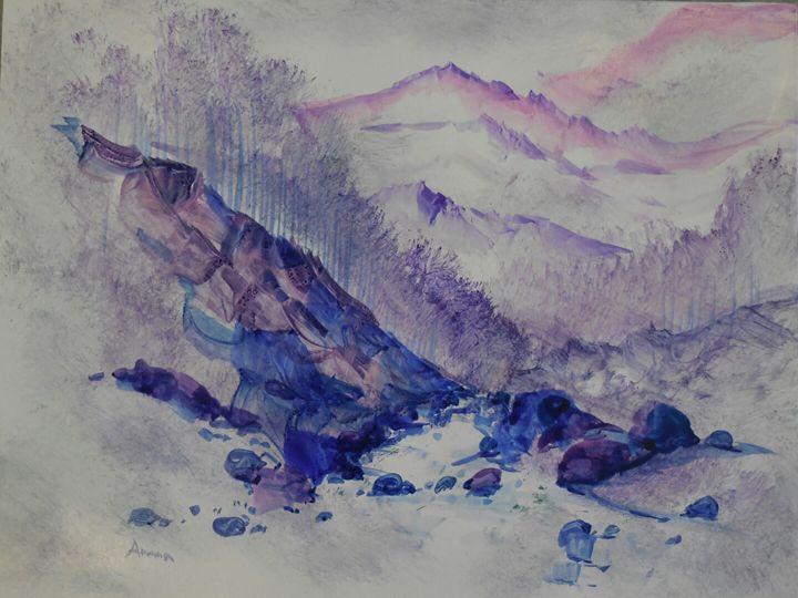 mountain himachal - ATMA D' ART