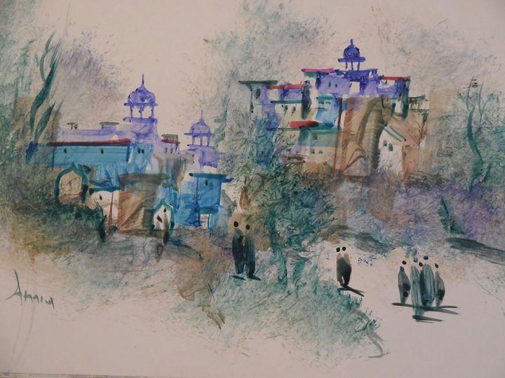 rajasthan ancient times - ATMA D' ART