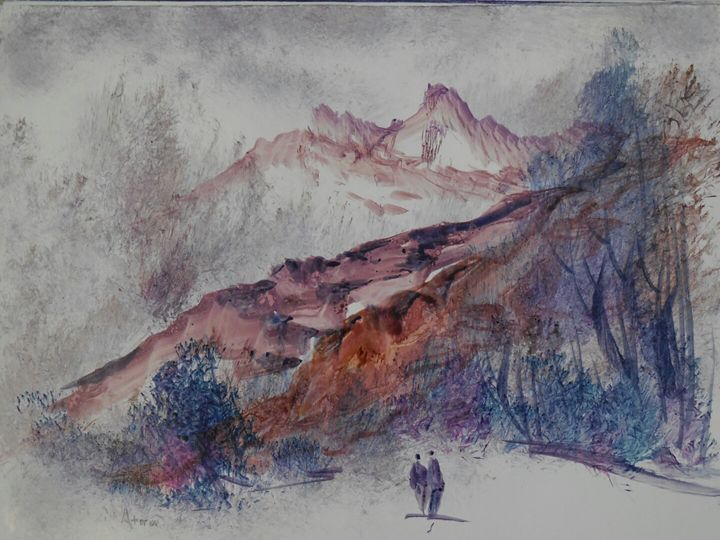 brown mountains - ATMA D' ART