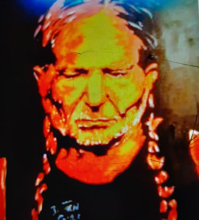 Willie Nelson #1 - Mob Boss Art