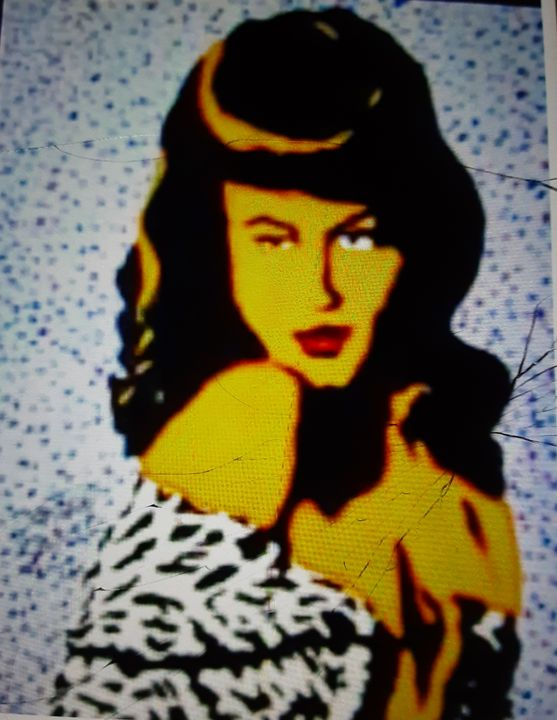 Bettie Page original style - Mob Boss Art