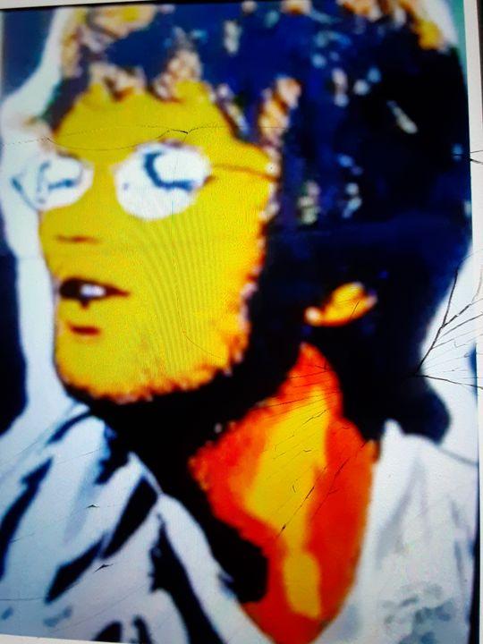 John Lennon singing - Mob Boss Art