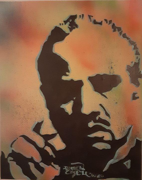 Marlon Brando as The Godfather - Mob Boss Art