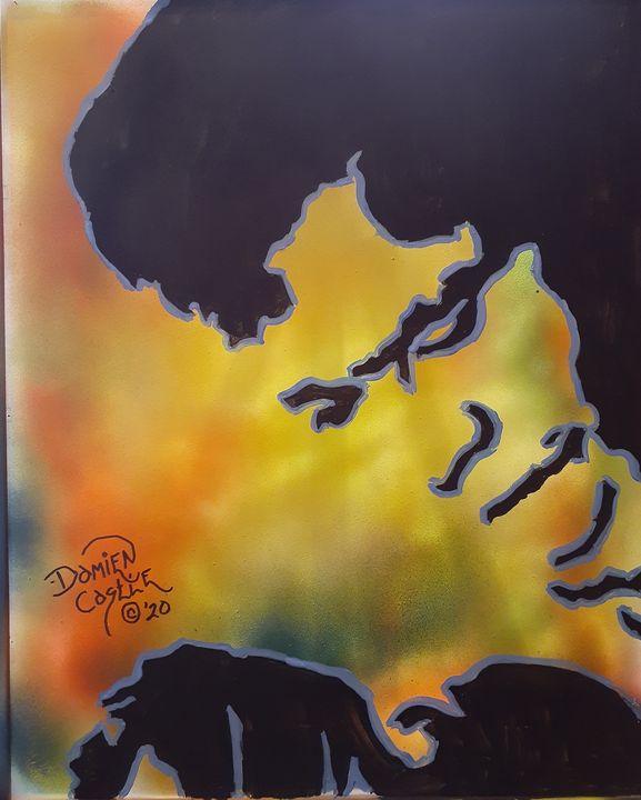 James Brown #7 - Mob Boss Art