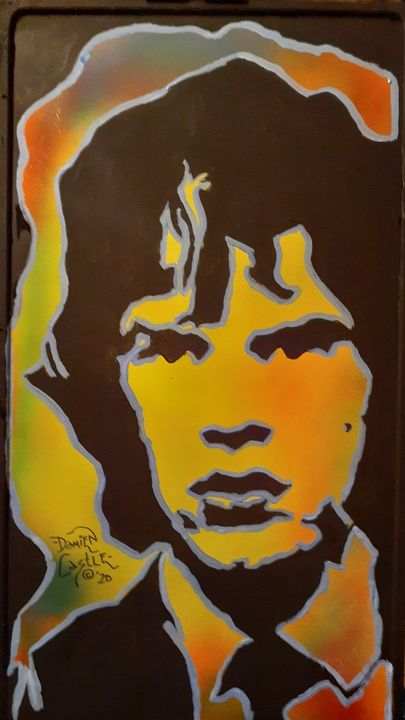 Mick Jagger #10 - Mob Boss Art