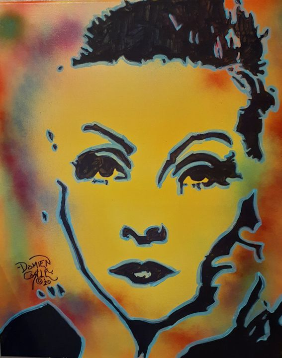Greta Garbo #1 - Mob Boss Art