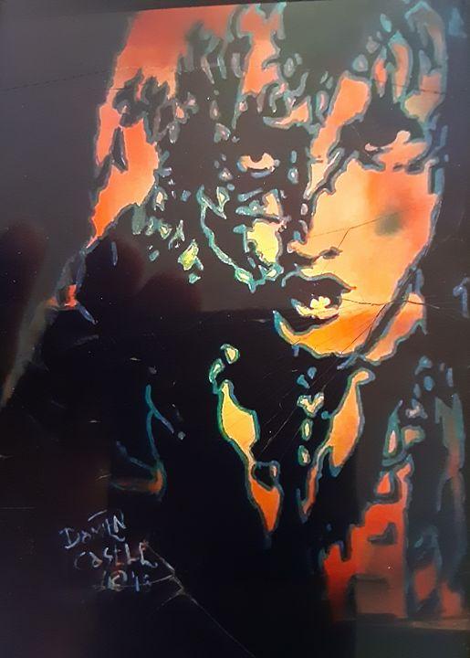 Angus Young #1 - Mob Boss Art