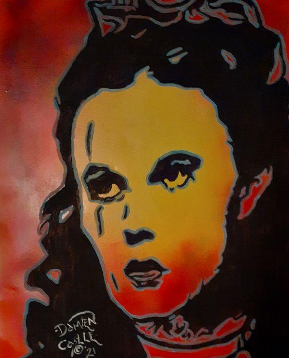 Judy Garland as Dorothy - Mob Boss Art