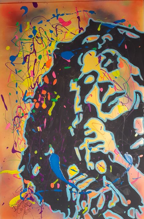 Janis Joplin: Cozmik Queen - Mob Boss Art