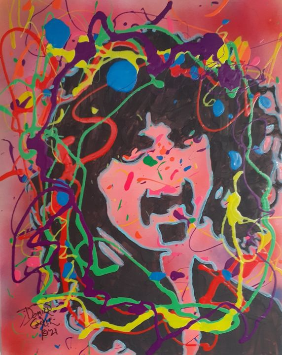 Frank Zappa:Cosmik Debris - Mob Boss Art