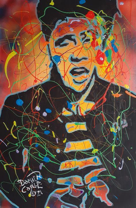 Elvis Presley:Jailhouse Acid Rock - Mob Boss Art