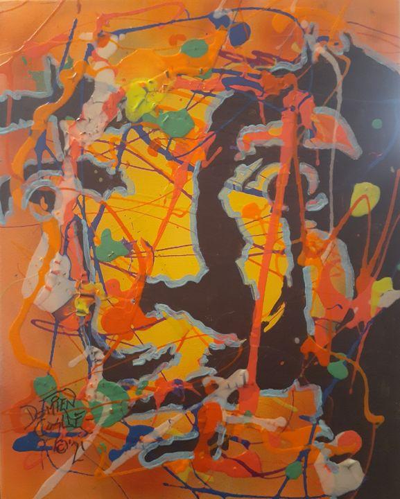 Salvador Dali:Surrealistic Drip - Mob Boss Art