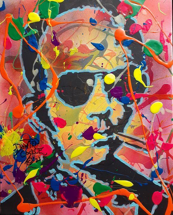 Hunter S. Thompson: Fear and Loathin - Mob Boss Art