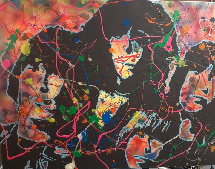 The Ramones:I Wanna Be Sedated - Mob Boss Art