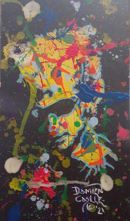 Layne Staley:Man in the Box of Chain - Mob Boss Art