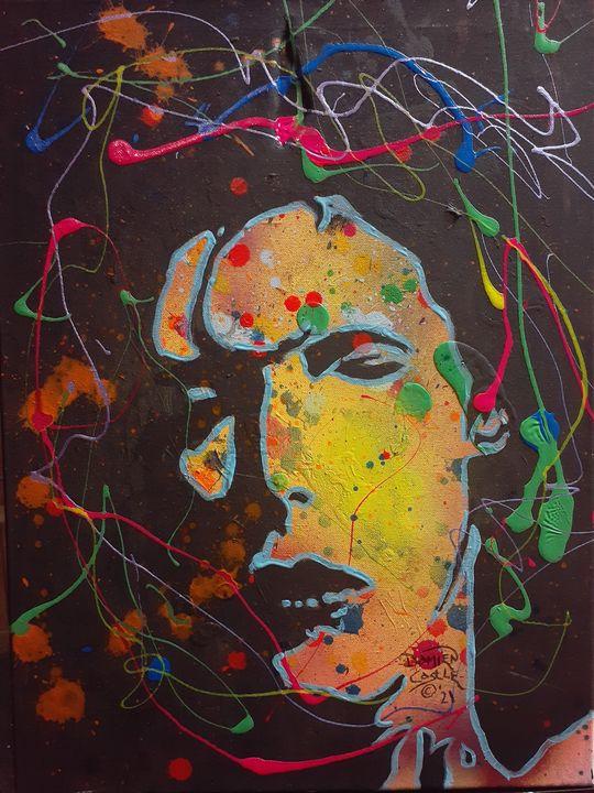 David Bowie:Dreaming The Jean Genie - Mob Boss Art