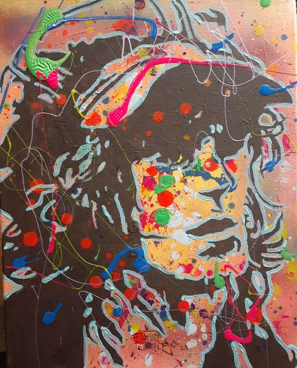 Keith Richards:Can't You Hear Me Kno - Mob Boss Art