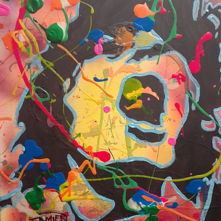 Angus Young:I've Been Thunderstruck - Mob Boss Art