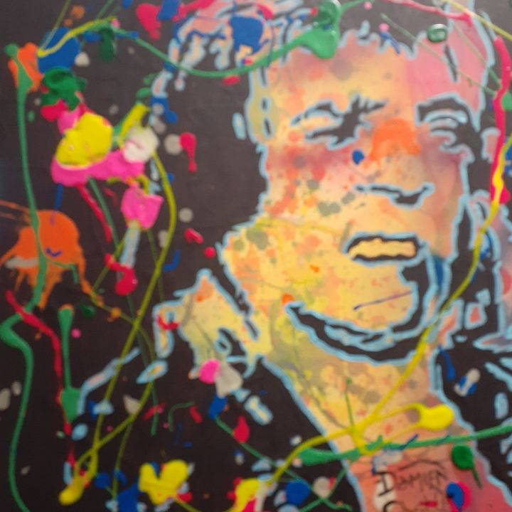 Mick Ronson:Music is Lethal - Mob Boss Art