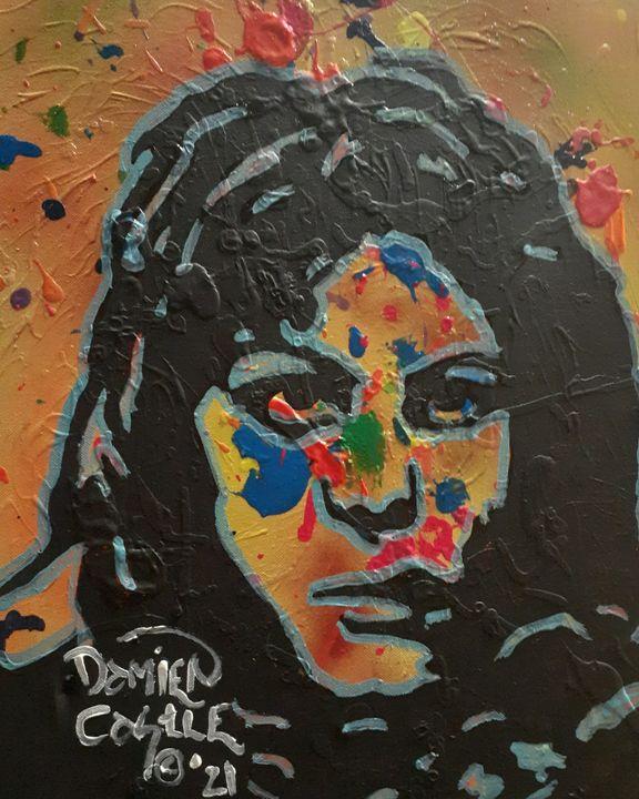 Joan Jett:RNR Cherry Bomb - Mob Boss Art