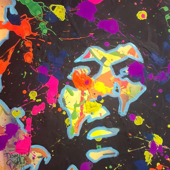 Jimi Hendrix:Wind Cries Mary - Mob Boss Art