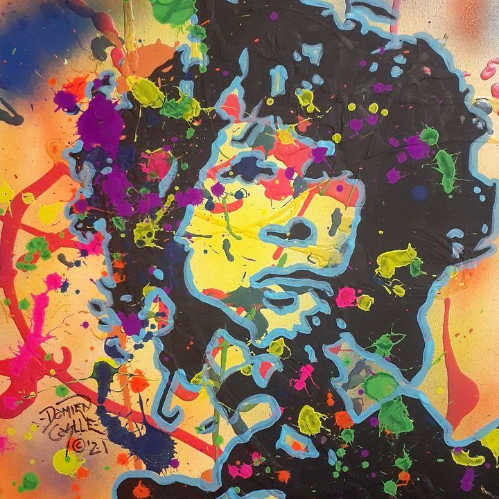 Jim Morrison:Break On Through - Mob Boss Art