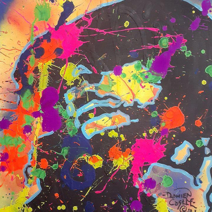 "Jim Morrison ""Riders On the Storm - Mob Boss Art"