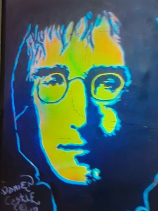 John Lennon Portrait - Mob Boss Art