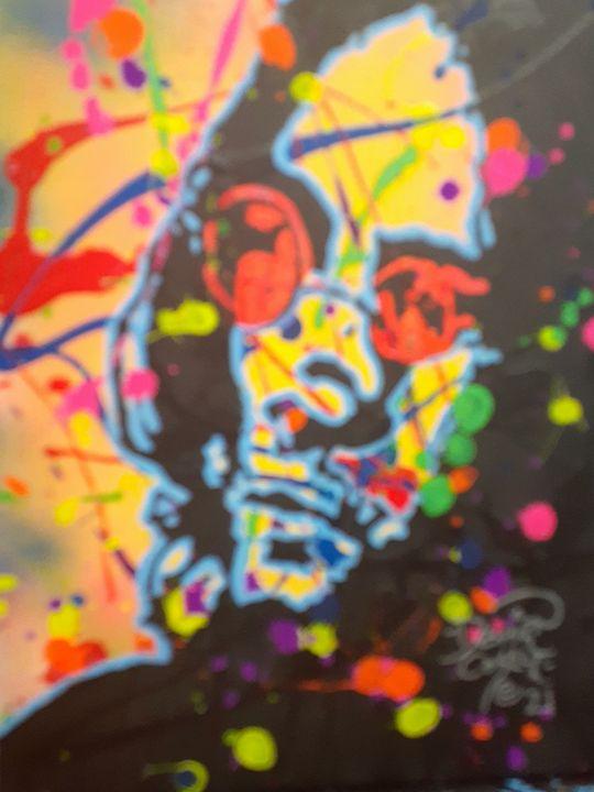 John Lennon:Working Class Hero - Mob Boss Art
