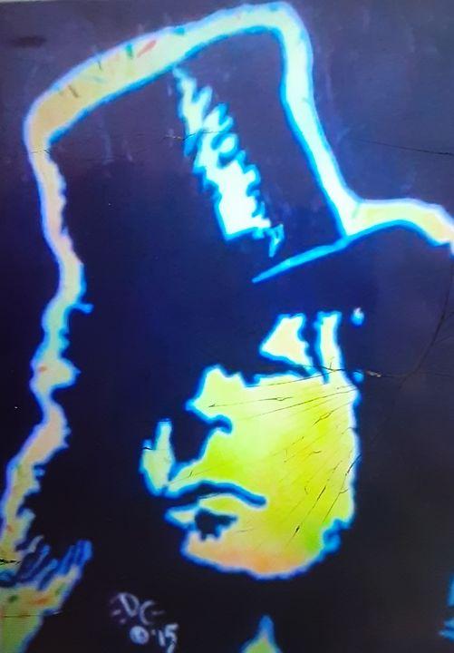 Marc Bolan of T.Rex - Mob Boss Art