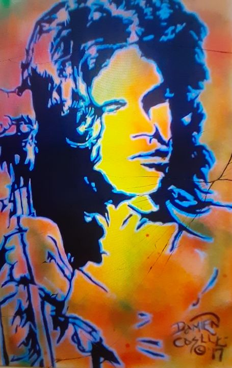 Jim Morrison #10 - Mob Boss Art