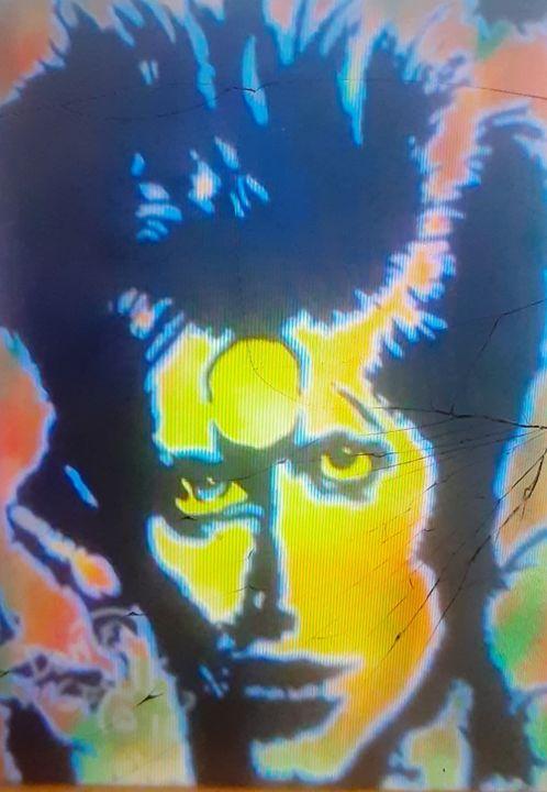 "David Bowie ""Aladdin Sane #2 - Mob Boss Art"