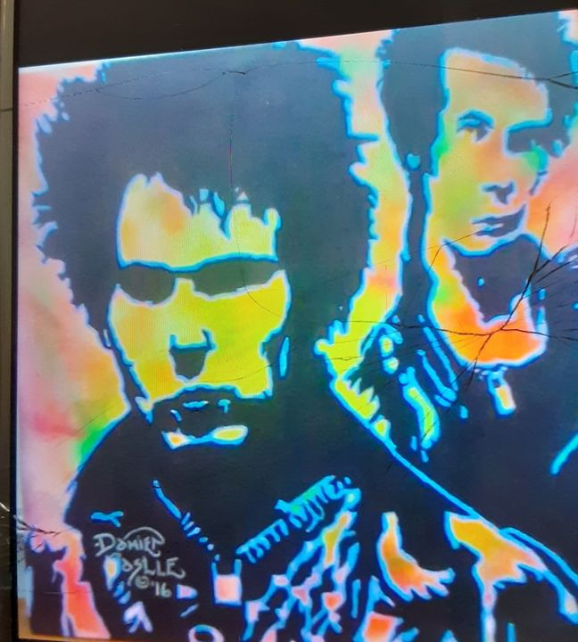 Double Shot of Sid Vicious - Mob Boss Art