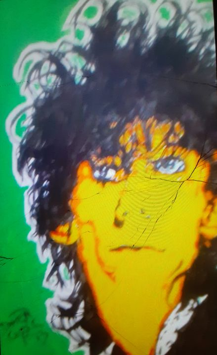 Stiv Bators - Mob Boss Art