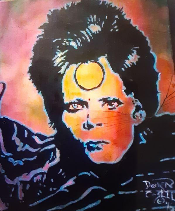 David Bowie circa Aladdin Sane #3 - Mob Boss Art