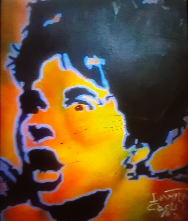 Darby Crash of The Germs #2 - Mob Boss Art