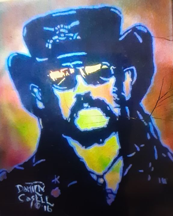 Lemmy of Motorhead #3 - Mob Boss Art