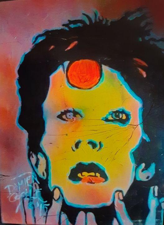 David Bowie circa Aladdin Sane #5 - Mob Boss Art