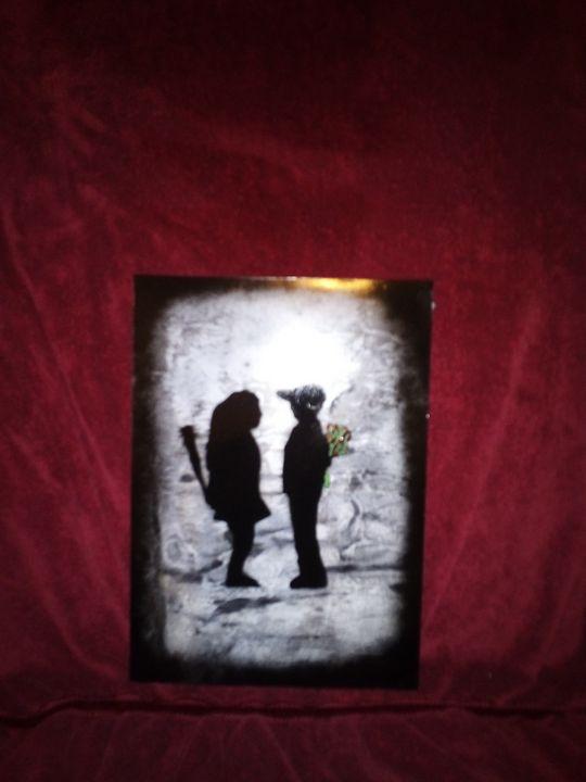 Banksy boy meets girl - Cmoody65