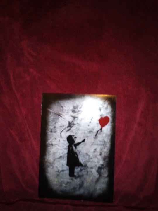 Banksy Innocence lost - Cmoody65