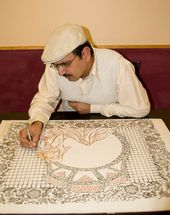 Papercutting art by Tusif Ahmad