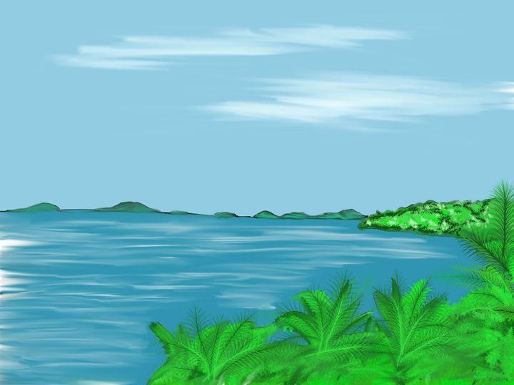 Playa Bonita - Travel Sketches