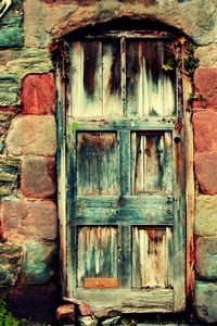 Patched Door
