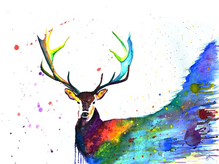 oh deer - IAN UNFINISHED