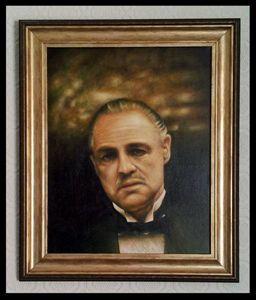 Marlon Brando Portrait