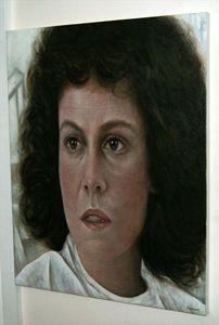 Aliens - Sigourney Weaver Portrait