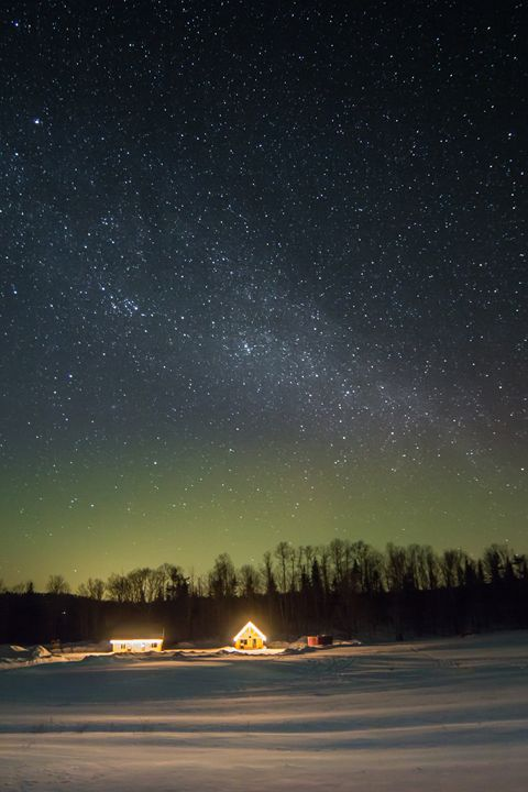Northern Lights VT - Dave Cowley Photography