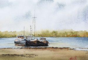 On the River Volga - Wei's studio