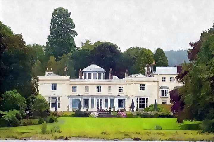 English Country House - Trevor Harvey Art